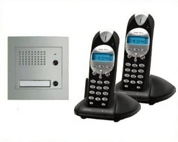 Kit interphone audio sans fil dect for Interphone sans fil interieur maison